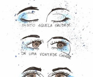 eyes, love, and cry image