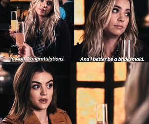 hanna, aria, and pretty little liars image