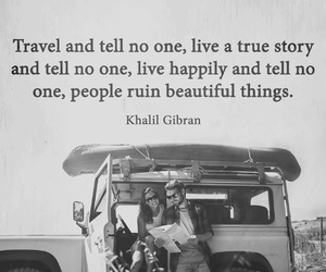 travel, live, and quotes image