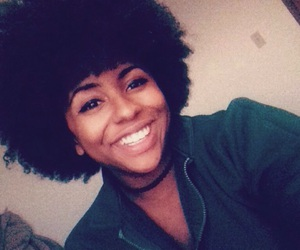 fro, natural hair, and love image