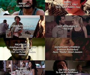 lost, tv series, and sayid image