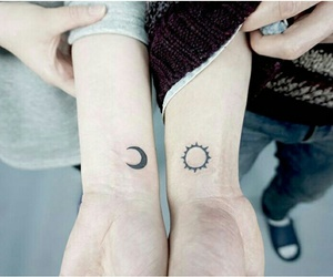 friend, sun, and moon image