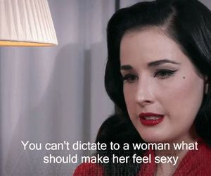 Dita von Teese, girl, and text image