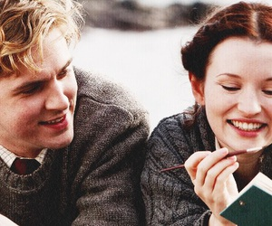 dan stevens, emily browning, and movie image