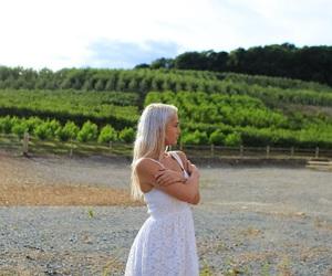 alone, beautiful, and blonde image
