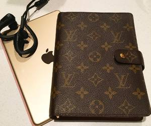 essentials, gold, and Louis Vuitton image