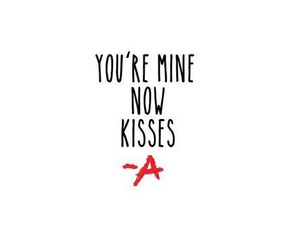 kisses, pretty little liars, and pll image