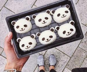 panda, cute, and food image