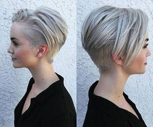 hair and pixie haircut image