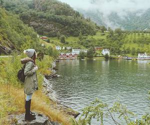 adventure, norway, and travel image