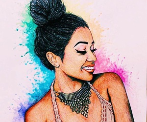 art, pretty, and liza koshy image