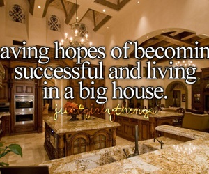 big house, hope, and living image
