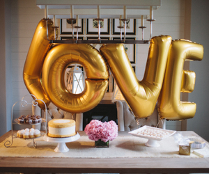 decor, engagement, and party image