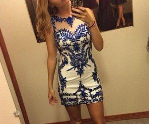 short homecoming dress, pretty homecoming dress, and mini homecoming dress image