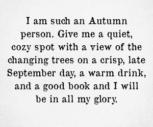 autumn, book, and quotes image