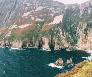 blue, donegal, and cliff image
