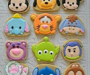 disney, Cookies, and food image