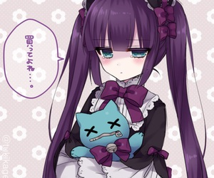anime, gothic, and lolita image