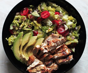 avocado, Chicken, and meal image