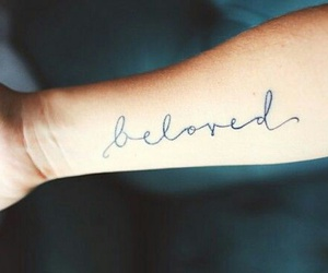 tattoo, beloved, and forearm image