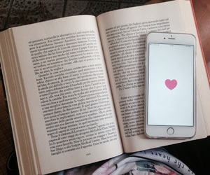 books, we heart it, and love image