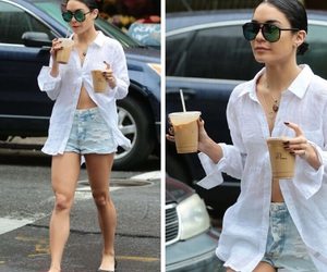 beauty, celebrity, and coffee image