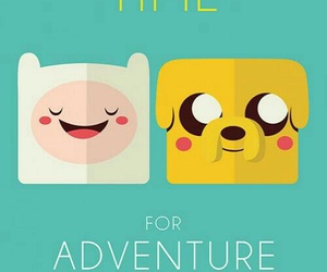 cartoon, finn, and JAKe image
