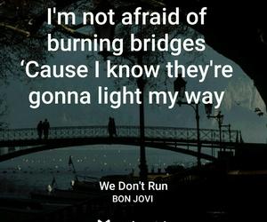 bridge, Lyrics, and night image