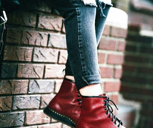 boots and red image