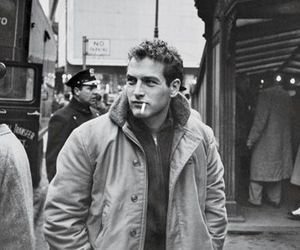 paul newman, black and white, and vintage image