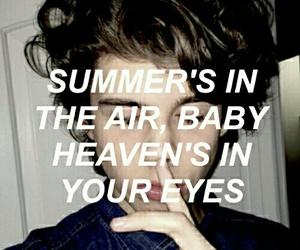 grunge, summer, and eyes image
