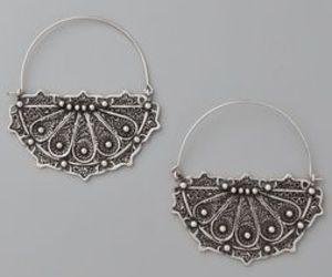 boho, earrings, and indie image