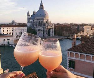 beautiful, drinks, and travel image
