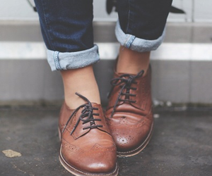 shoes, fashion, and fall image