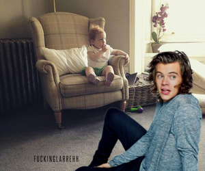 louis tomlinson, doris and ernest, and larry stylinson image