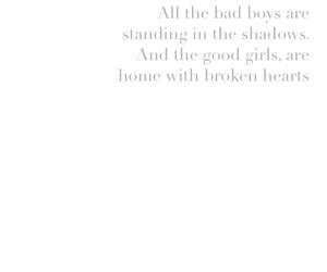 bad boy, bad boys, and broken heart image