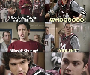 coach, funny, and stiles image