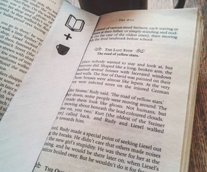 book, bookmark, and coffee image