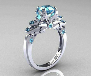 engagement, gold, and jewelry image