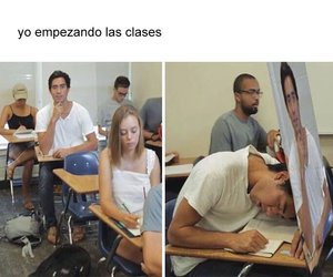 college, divertido, and funny image