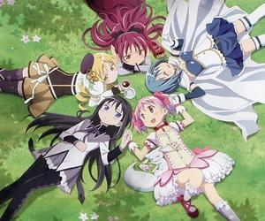 anime and madoka magica image