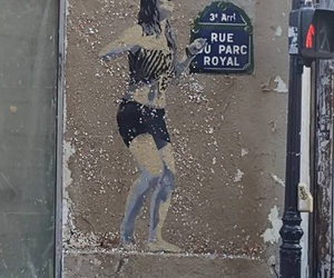 paris, street art, and picture by juladart image