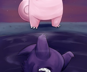 background, pokemon, and clefable image