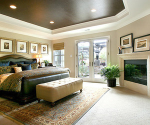 bedroom, house, and luxury image