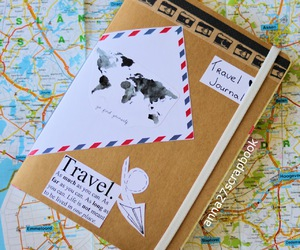 cool, travel, and scrapbook image