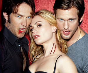 true blood, eric, and bill image
