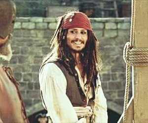 pirate, gif, and jack sparrow image
