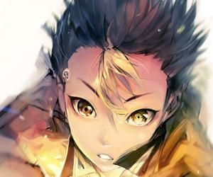 haikyuu, nishinoya, and anime image