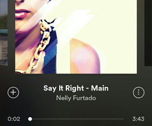 music and Nelly Furtado image