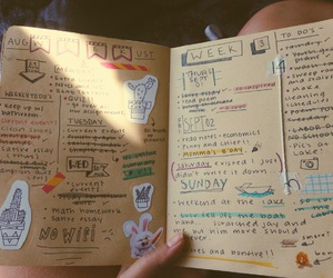 doodles, font, and journal image